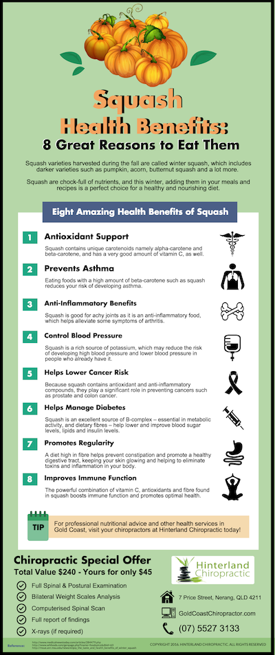 Squash Health Benefits: 8 Great Reasons to Eat Them
