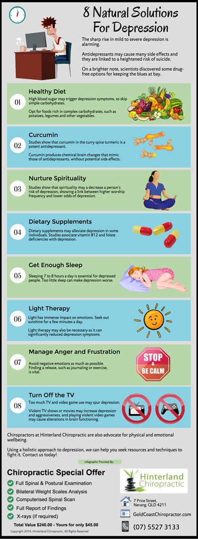 8 Natural Solutions For Depression