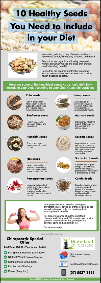 10 Healthy Seeds You Need to Include in your Diet